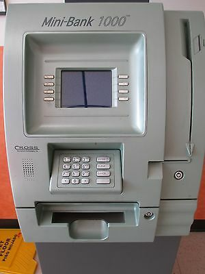 Used Cross Mini Bank 1000 ATM Machine For Parts Pieces Repair