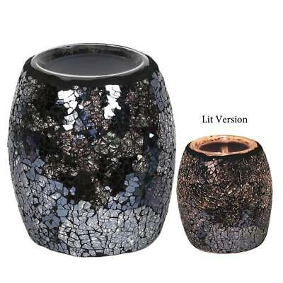 Aromatize Black and Silver Electric Wax / Melt Burner FREE P&P