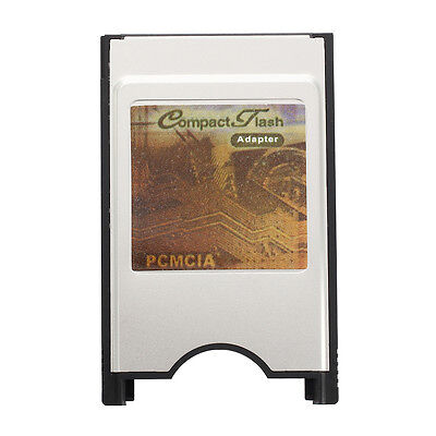 SODIAL(R) Carte adaptateur CF Compact Flash PCMCIA X Notebook J9E6