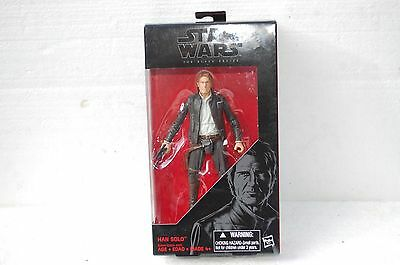 Hasbro Star Wars Black Series 2016 6 inch Han Solo Action Figure AS PICTURE