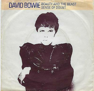 """David Bowie - Beauty And The Beast - 7"""" Vinyl Record Single"""