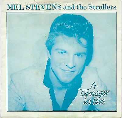 "Mel Stevens and The Strollers - A Teenager In Love - 7"" Vinyl Record Single"