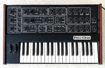 Sequential Circuits Pro One Rare Vintage Analog Synthesizer Synth SCI J-wire