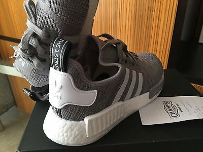 reputable site db5c3 92e04 Adidas NMD ALL Gray Wool Super Superstar flux ultra boost White red R1  Black XR1