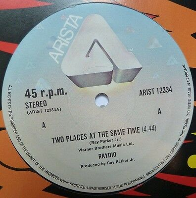 "Raydio - Two Places At The Same Time - 12"" Vinyl"