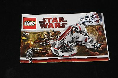 Lego Star Wars Republic frigate receta 7964 only instructions
