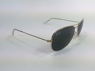 Ray ban Sunglasses COCKPIT RB3362 001 Gold w/Crystal Green Lens 59mm