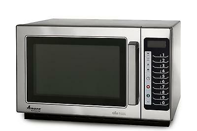 Amana 1000W Commercial Stainless Microwave Oven, Medium Volume - Rcs10Ts