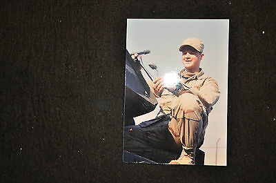 EARLY OPERATION IRAQI FREEDOM 1st ARMORED DIVISION PHOTO - VEHICLE MAINTENANCE