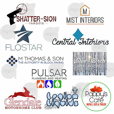 Professional Bespoke Logo Design + Unlimited Revisions. Cheap & Fast. Business.