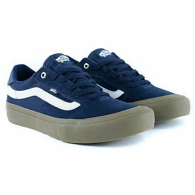 Vans Style 112 Pro Navy Gum White Skate Shoes New Free Delivery Limited Release