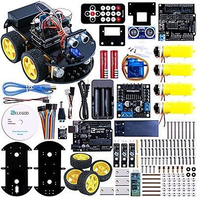 Elegoo Arduino Project Smart Robot Car Kit with Four-wheel Drives, UNO R3, Link
