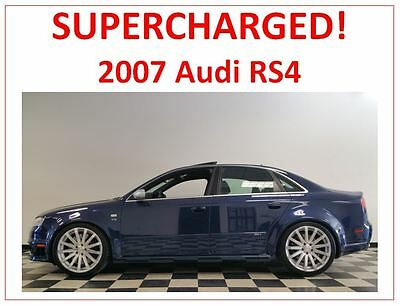 2007 Audi RS4  2007 Audi RS4 -- JHM Motorsports Supercharged / Highly Modified / 550+ HP