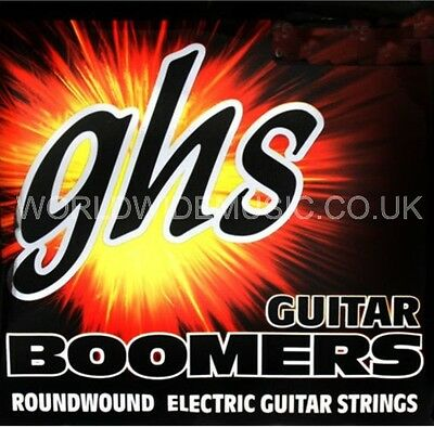 GHS GBXL Boomers Extra Light  Roundwound Electric Guitar Strings .009 - .042