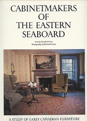 Antique Canadian Eastern Seaboard Furniture - Types Makers Dates / Scarce Book