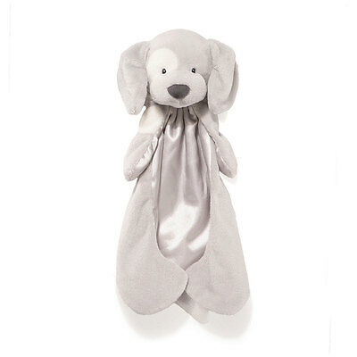 Dog Huggybuddy Baby Blanket – Gray