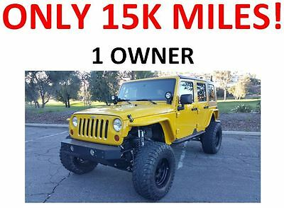 2008 Jeep Wrangler Unlimited X Sport Utility 4-Door 1 Owner -- Only 15k miles -- Lots of Upgrades