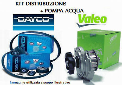 KIT DISTRIBUZIONE +POMPA VW Touran GOLF V Audi A3 1.9 Tdi 105 cv dal 2003