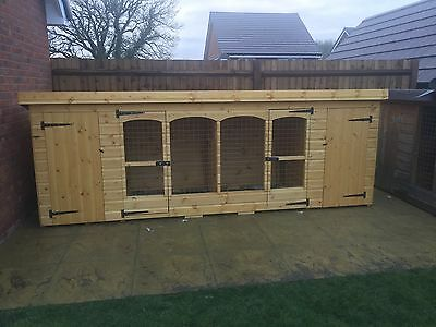 dog kennel and run 12ft x 4ft x 4ft (high) Other Size Available Please Contact