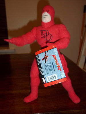 14'' Genuine Marvel Daredevil Soft Toy Pose Able Arm's & Leg's Gift Classic
