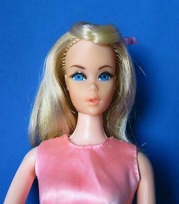Vintage 1971 Walk Lively Barbie Doll~GLOWIN' OUT #3403~2 Barbie Items~One Price
