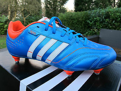 ADIDAS 11 NOVA SG BRIGHT BLUE 3 S Football Boots Mens 6 11 red studs soccer cce142b5c