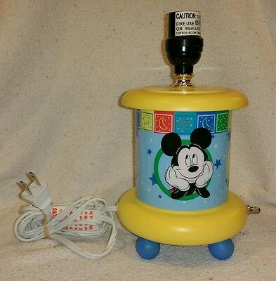 Mickey & Minnie Mouse and Pluto nightstand lamp!