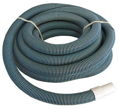 "Swimming Pool Commercial Grade Vacuum Hose 1.5"" - 50' length with Swivel End"