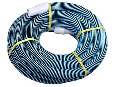 """Swimming Pool Commercial Grade Vacuum Hose 1.25"""" - 25ft length with Swivel End"""
