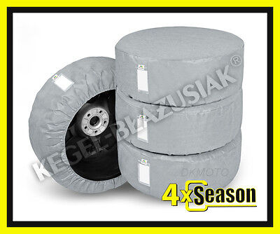 4 x WHEEL COVERS for 224/45R17 Car Spare Wheel Covers 17''