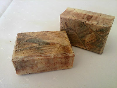 Natural Handmade Soap-Cinnamon & Patchouli-Essential Oils-Body and Facial-2 bars