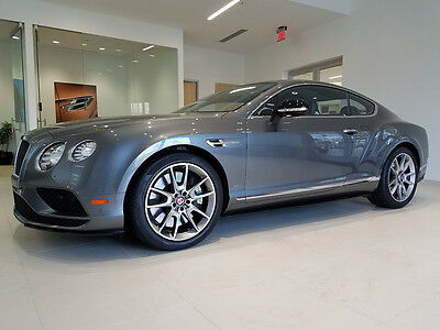 "2016 Bentley Continental GT V8S 2016 GT V8S COUPE! REDUCED! CPO! 5K MILES!  SPORT EXHAUST, 20"" WHEELS, MORE!!"