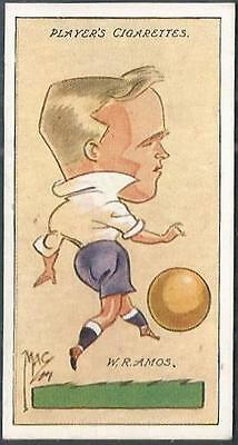 """PLAYERS 1927 FOOTBALL CARICATURES BY /""""MAC/"""" #35-CHELSEA /& SCOTLAND-ANDY WILSON"""