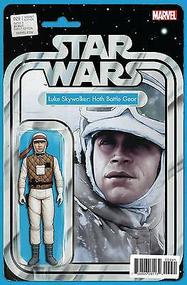 Star Wars #29 John Tyler Christopher Action Figure Variant Hoth Luke Pre Order