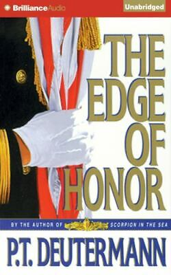 THE EDGE OF HONOR unabridged audio book on CD by P.T. DEUTERMANN (22 Hours)