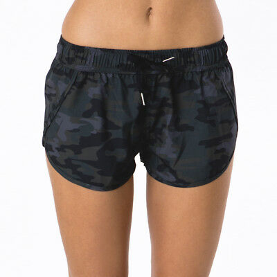 Bounce Activewear Military Shorts in Black