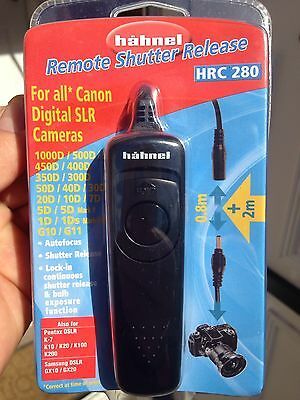 Hahnel HRC 280 Remote Shutter Cable Release for Canon D-SLR