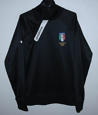 Italy referee issue football jacket Diadora Size S