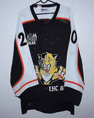Vintage EHC 88 Tigers ice hockey match worn shirt jersey #20