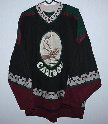 Vintage Caribou ice hockey shirt jersey #73 Size XL