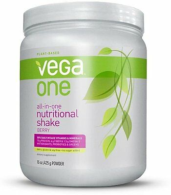 All-in-One Nutritional Shake, Vega, 11 servings Berry