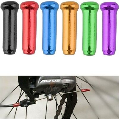 New Bike Bicycle Brake Shifter Derailleur Inner Cable Wire End Cap Crimps