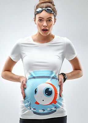 NEW - Mamagama - Fish Bowl T-Shirt | Maternity Clothes
