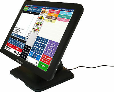 Best Epos M2 Touch Screen All In One Therminal with VFD Customer Display Fanless