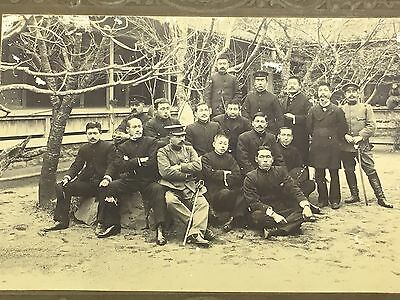 WWII Japanese Army Soldiers Group Photo