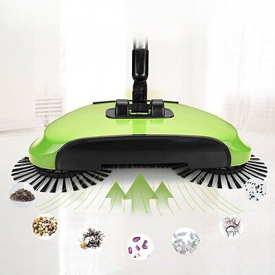 Hand Push Sweeper Automatic Cleaning Tool Broom Household Multifunction Sets
