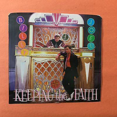 BILLY JOEL Keeping the Faith b/w She's Right... 38 04681  45rpm Vinyl & PS VG++