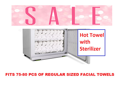 Hot Towel Cabbie Towel Warmer Drawer Spa UV cabinet Sterilizer Facial