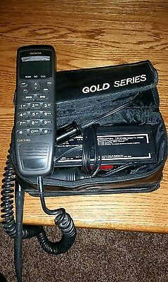 Vintage Nokia Bag Phone With Battery And Case Good Working Condition