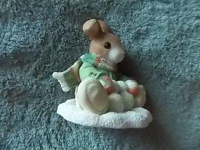 Xmas My Blushing Bunnies Bunny Boy & Snowballs 1996 You Are Not Here #178667